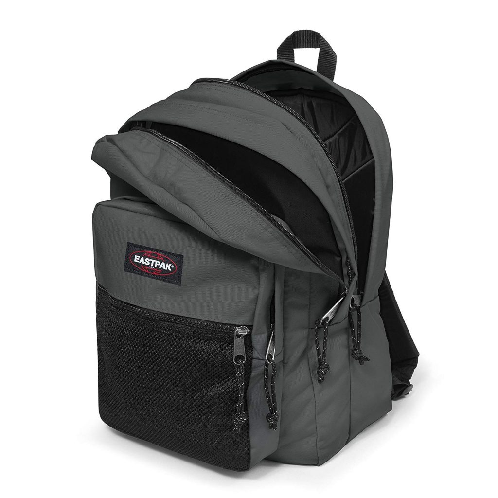 sac-eastpak-Pinnacle-gris-ouvert