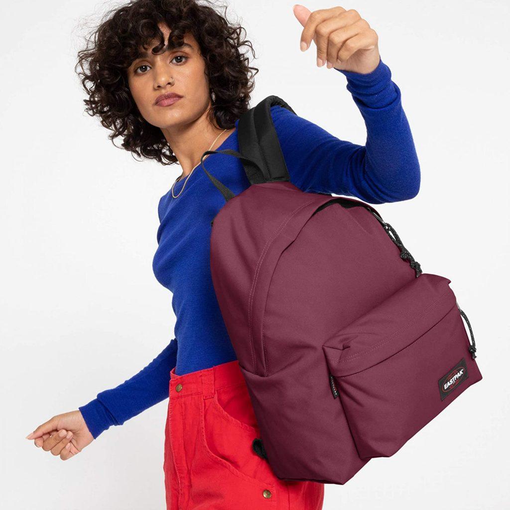 sac à dos fille eastpak padded rouge